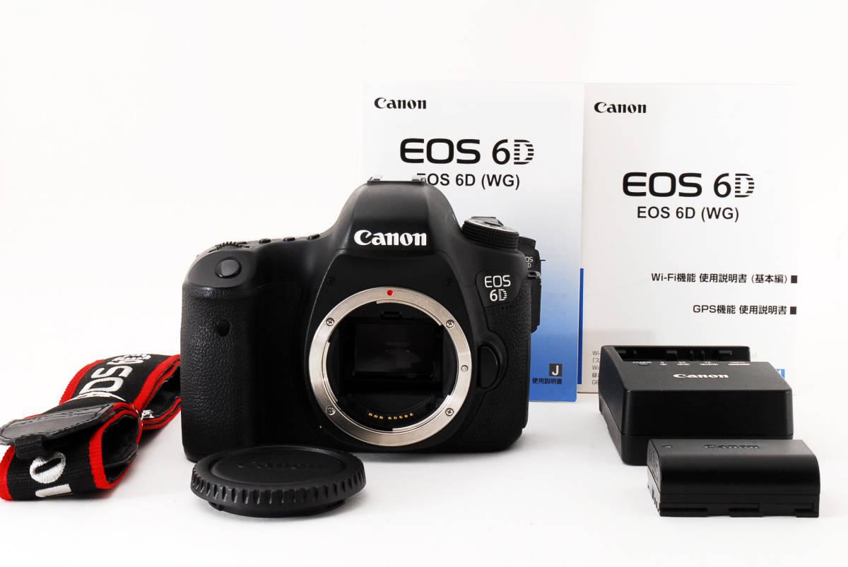 324123-7827MR 1年保証 Canon EOS 6D キャノン デジタル一眼レフカメラ 27000回程度 7827