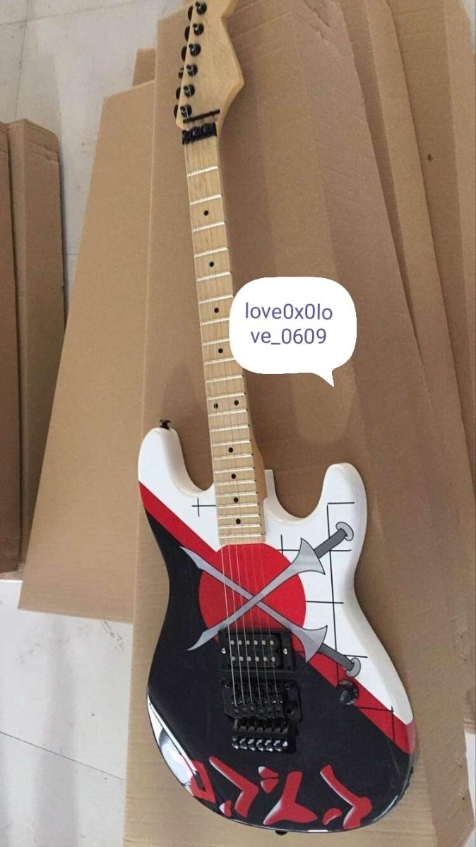 【送料無料!】エレキギター!*RATT(ラット)のWarren DeMartini(ウォーレン・デ・マルティーニ)モデルではありません ノーブランド