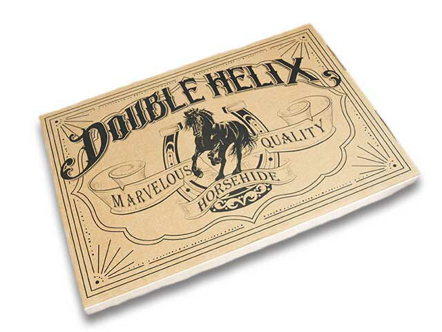【Double Helix/ダブルへリックス】Auto Revolution/オートレボリューション(BK/XL)1801/アメカジ/ハーレー/バイク/馬革/ホースハイド_画像10