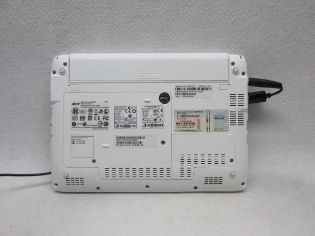 1円~☆Acer Aspire one 532h-CBW123G Win10 2G 250G Office2016 無線LAN_画像6