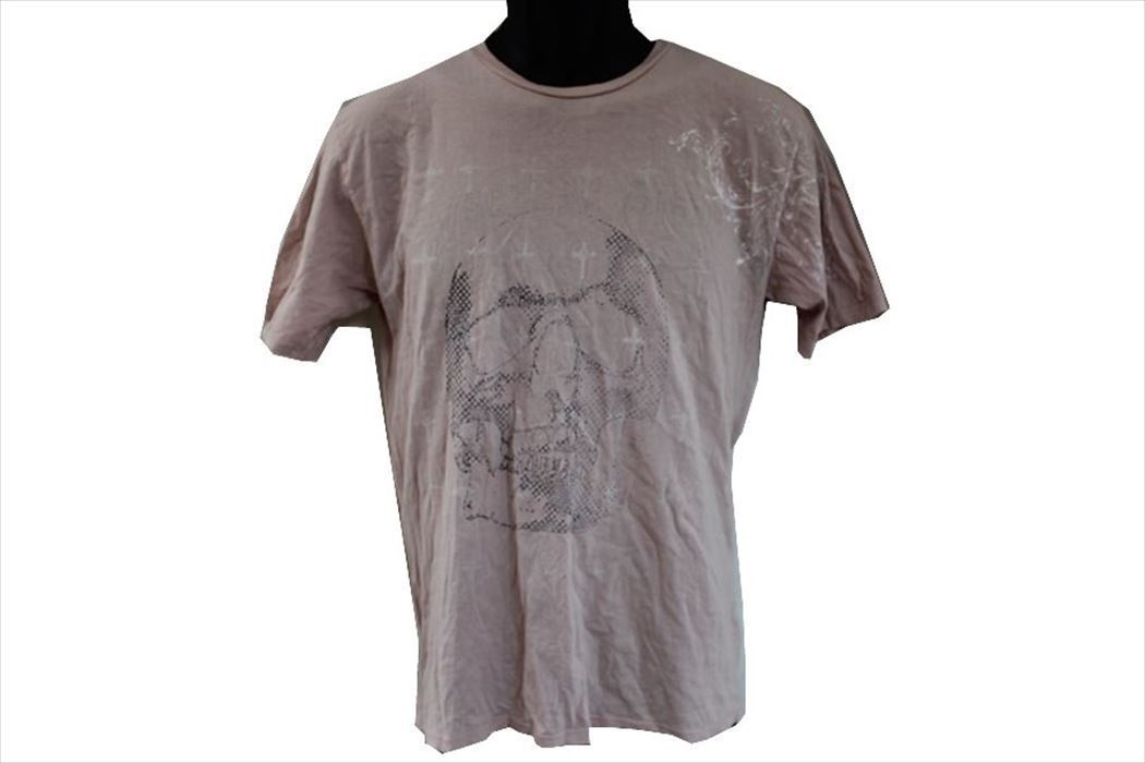 モナーキー MONARCHY メンズ半袖Tシャツ ピンク Sサイズ 新品_画像2