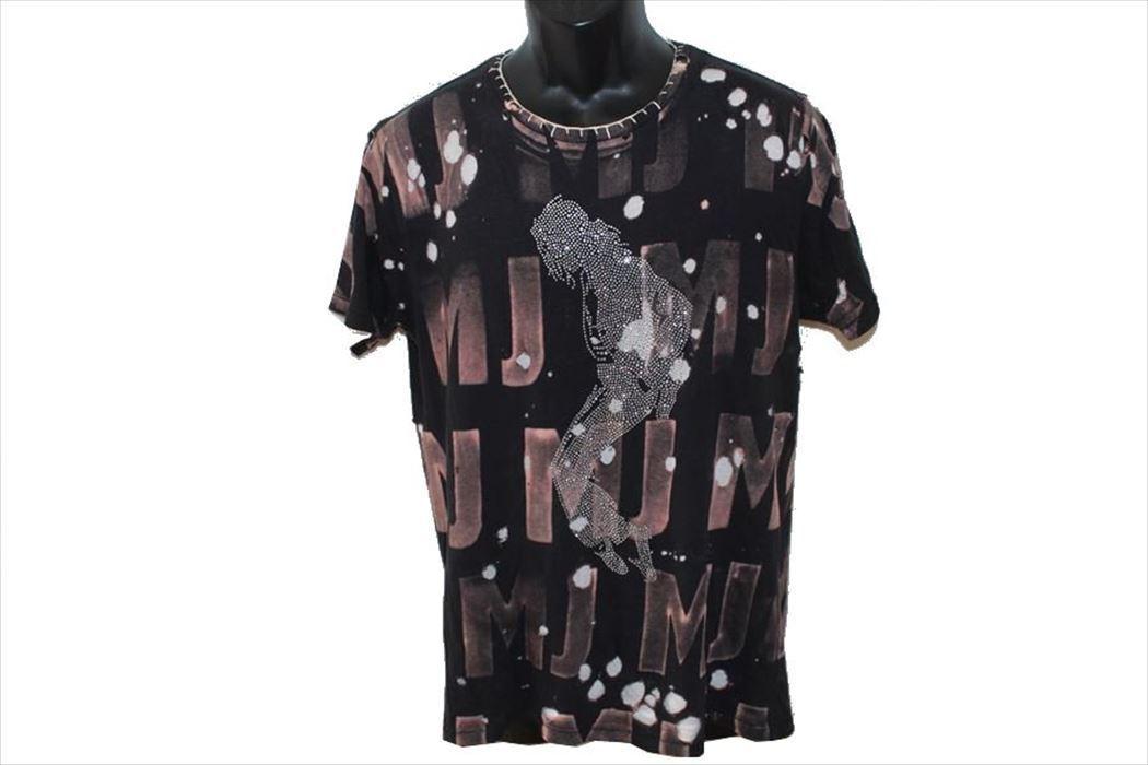 アイコニック Iconic Couture マイケルジャクソン Michael Jackson メンズ半袖Tシャツ レッド Mサイズ 新品_画像2