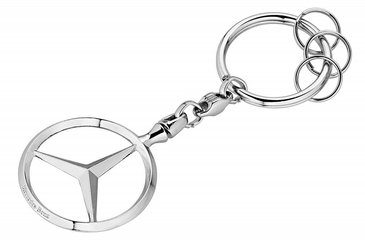 ◆◆【MercedesBenz CLクラス】W217 C217 A217 W216 C216 W215 C215 ベンツ純正品 キーホルダー【スリーポインテッドスター】_画像1