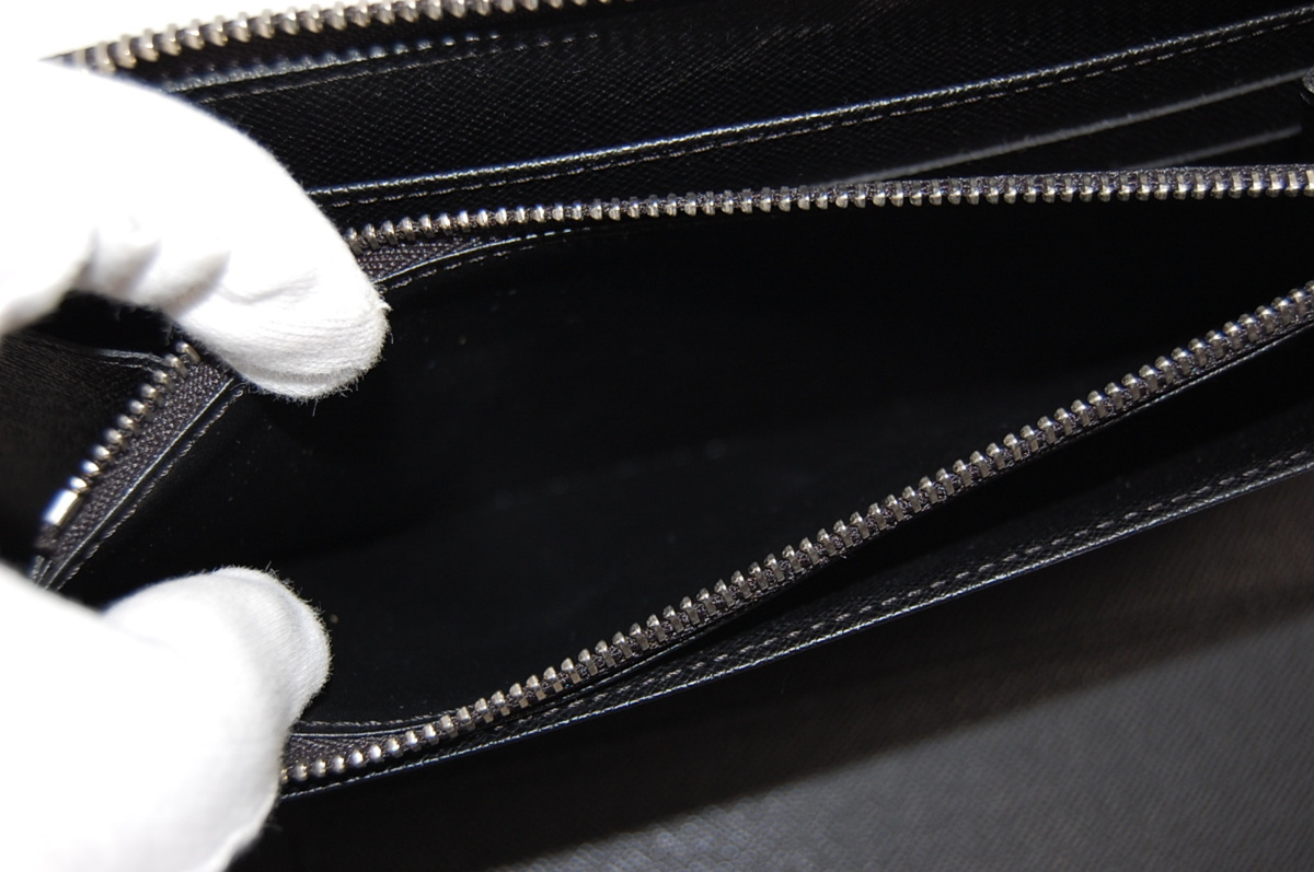 ルイヴィトン N61214 ジッピー・オーガナイザー ラウンドファスナー長財布 クリストファーネメス グラフィットロープ_画像5