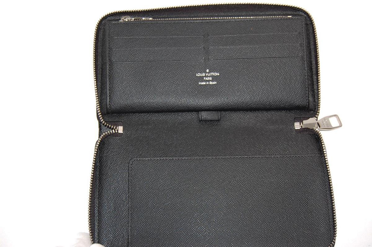 ルイヴィトン N61214 ジッピー・オーガナイザー ラウンドファスナー長財布 クリストファーネメス グラフィットロープ_画像2