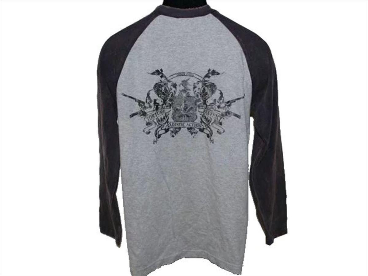 サディスティックアクション SADISTIC ACTION メンズ長袖Tシャツ Mサイズ NO21 新品_画像3