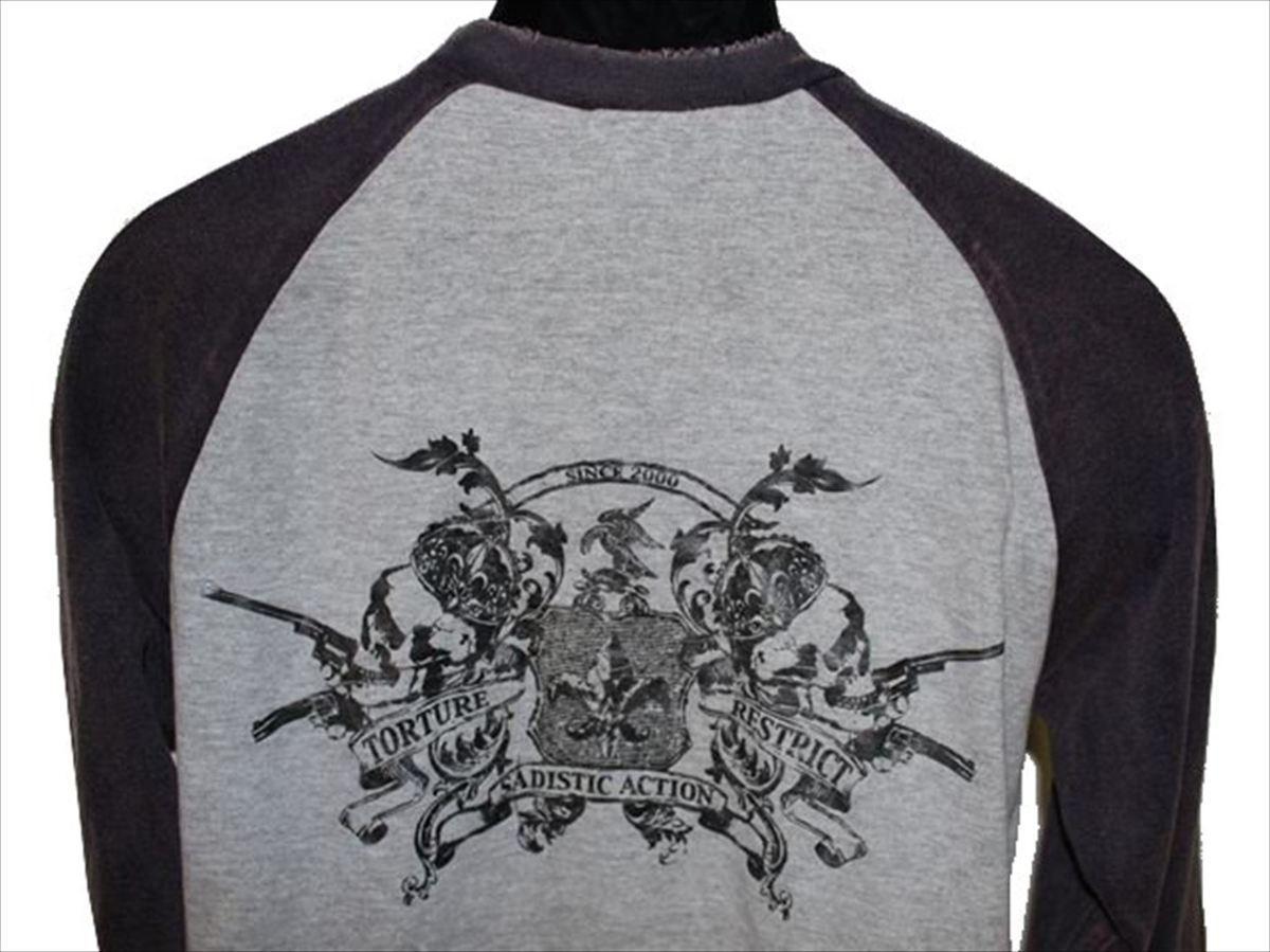 サディスティックアクション SADISTIC ACTION メンズ長袖Tシャツ Mサイズ NO21 新品_画像4