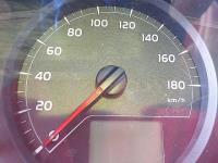 ヴィッツ DBA-NSP130 スピードメーター_画像2