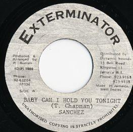 EP☆Sancez / Baby Can I Hold You Tonight / Exterminator_2905-088