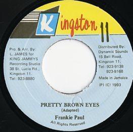EP☆Frankie Paul / Pretty Brown Eyes / Kingston 11_2905-028