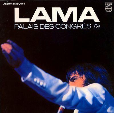 2LP / SERGE LAMA / PALAIS DES CONGRES 1979 / 6681 010_1018-102