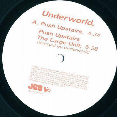 12inch/UNDERWORLD/PUSH UPSTAIRS/JBO_画像2
