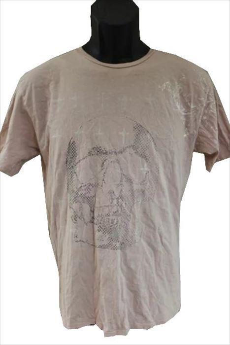 モナーキー MONARCHY メンズ半袖Tシャツ ピンク Sサイズ 新品_画像1