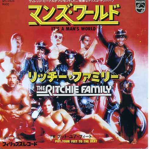EP☆RITCHIE FAMILY /it's a man's world /SFL-2435_2902-138