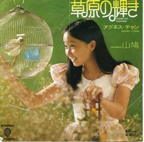 EP☆アグネス・チャン/草原の輝き/山鳩/45RPM_2904-145