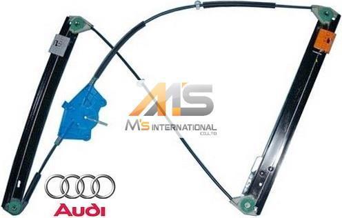 【M's】アウディ A4 S4 RS4(2001y-2008y)純正品 ウインドーレギュレーター(右前)//AUDI 8E B6 B7 ウィンドーレギュレター 8E0-837-462C_画像1