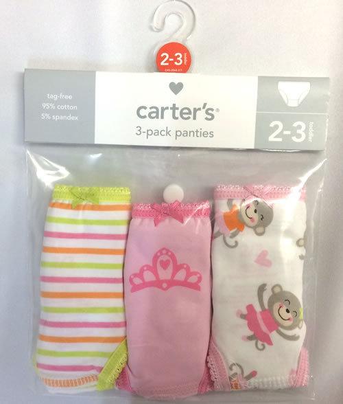 Carter's (カーターズ) ショーツ3Pセット プリンセスサル【4歳~5歳用】_画像1