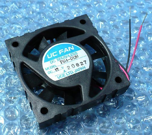 UCE*ko Pal F614-D12H (FAN DC12V 0.18A W62×H62×D14 [mm]).d