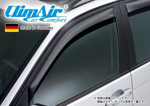 【M's】VW トゥーラン 5T(16y-)climAir社製 フロント ドアバイザー (左右) //フォルクスワーゲン Touran クリムエアー 400853 前 F_画像1