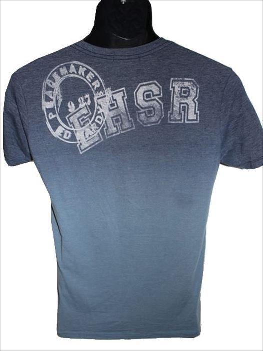エドハーディー ED HARDY メンズ半袖Tシャツ Vネック ネイビー Sサイズ 新品_画像3