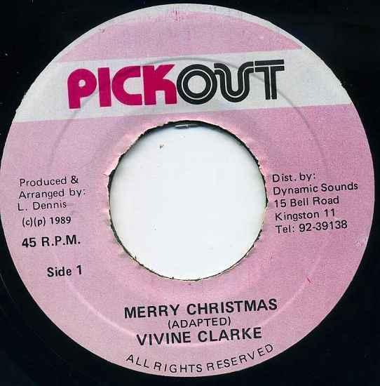 EP☆Vivine Clarke / Merry Christmas / Pick Out_画像2