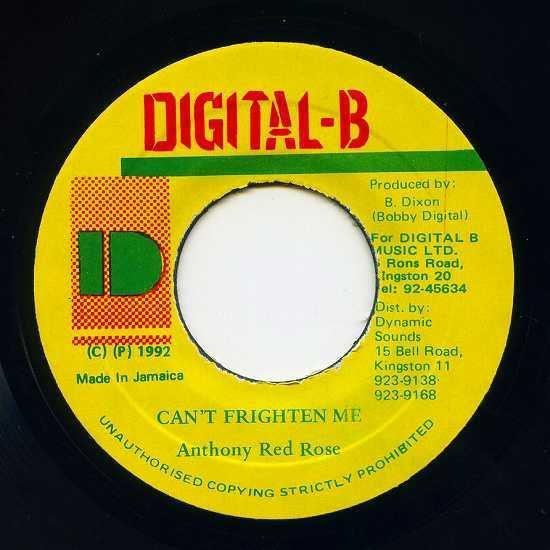EP☆Anthony Red Rose / Can'T Frighten Me / Digital-B_画像2