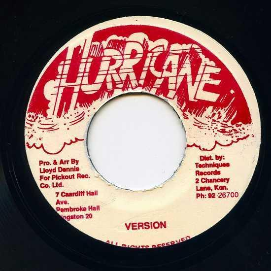 EP☆Gregory Isaacs / Little Twitch / Gimme Gimme / Hurricane_画像3