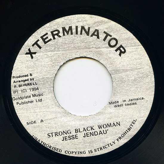 EP☆Jesse Jendau' / Strong Black Woman / Xterminator_画像2