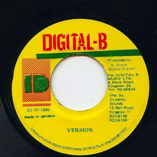 EP☆Frankie Paul / All I Want / Digital-B_画像3