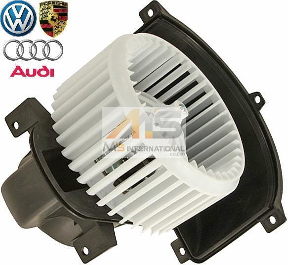 【M's】VW トゥアレグ (2004-2010y)純正品 ブロアモーター//フォルクスワーゲン 正規品 ブロワモーターブロアファン 7L0-820-021Q_画像1