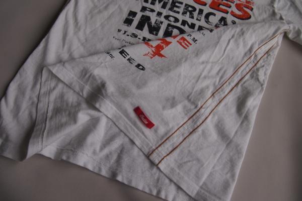 インディアンモーターサイクル★半袖Tシャツ★ロゴ★プリント★刺繍★Mサイズ★Indian Motorcycle_画像9