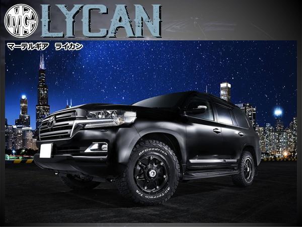 マーテルギア LYCAN ライカン 新品16インチ 8J/±0 & BF.Goodrich Mud-TerrainT/Akm3 315/75R16*トヨタ FJクルーザー ※カスタム車向け_画像4