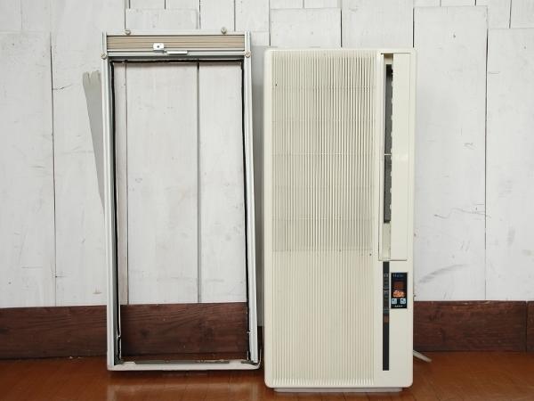 【Haier/ハイアール/窓用ルームエアコン/ウィンドエアコン/HSA-16R1/2005年製】空調冷房クーラー_画像1