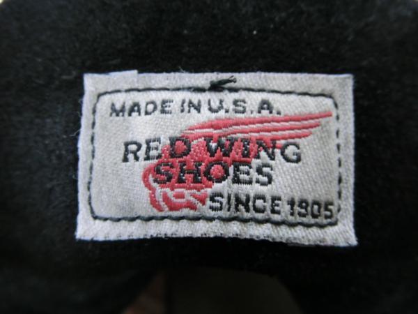 REDWING レッドウィング8179モックトゥ 26cm 羽タグ_画像6