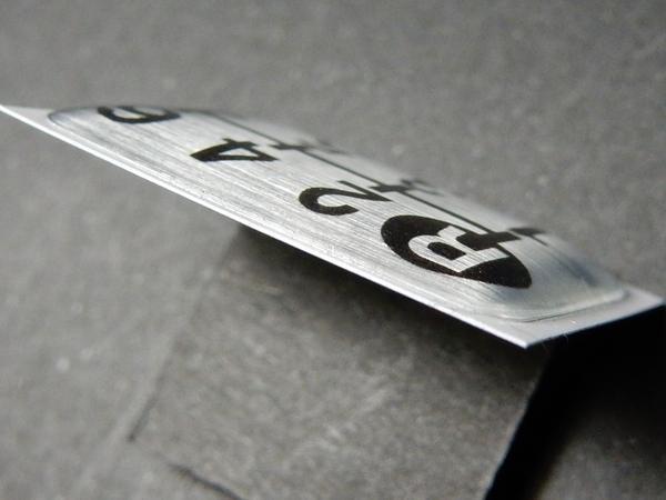 Tuningfan シフトパターン エンブレム 7速MT車用 ギガ スーパーグレート ドルフィン プロフィア ビックサム クオン いすゞ日野ふそうUD_画像4