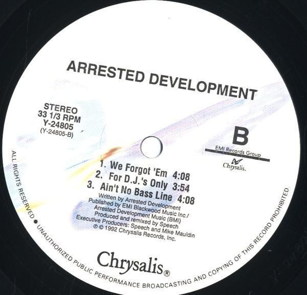 12inch☆ARRESTED DEVELOPMENT / MR. WENDAL / Y-24805_画像3