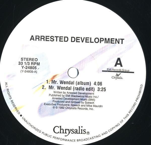 12inch☆ARRESTED DEVELOPMENT / MR. WENDAL / Y-24805_画像2