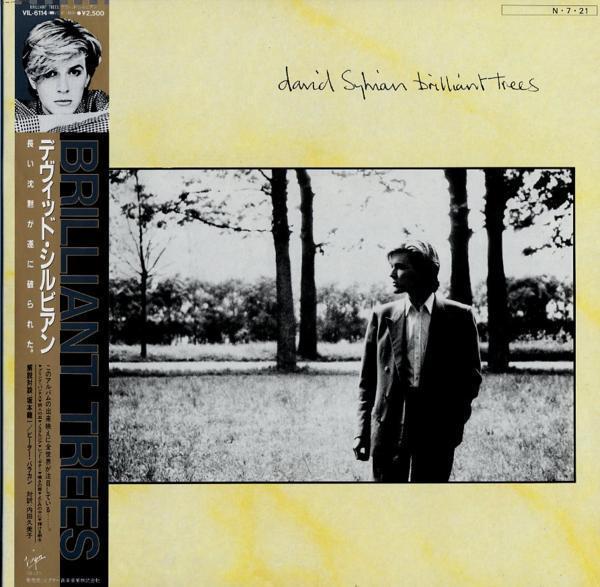 LP☆DAVID SYLVIAN/BRILLIANT TREES/VIL-6114_1045-090