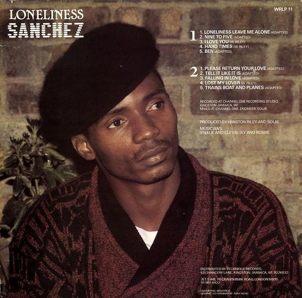 LP / Sanchez / Loneliness / WRLP17_画像2