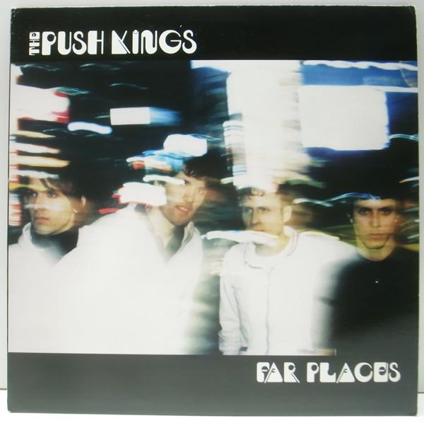 良好品!! 稀少アナログ USオリジナル PUSH KINGS Far Places ('98 Sealed Fate) プッシュ・キングス LP 米 INDIE ROCK_画像1