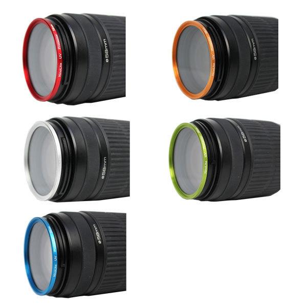 【フィルター径:49mm】UVフィルター ゴールド 枠 金 カメラレンズ保護 フィルターをはめてレンズキャップの取り付けok レンズプロテクト_画像3
