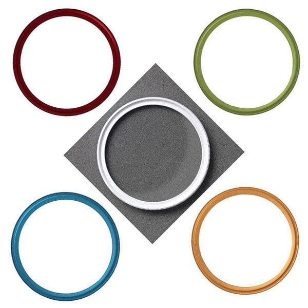 【フィルター径:49mm】UVフィルター ゴールド 枠 金 カメラレンズ保護 フィルターをはめてレンズキャップの取り付けok レンズプロテクト_画像2