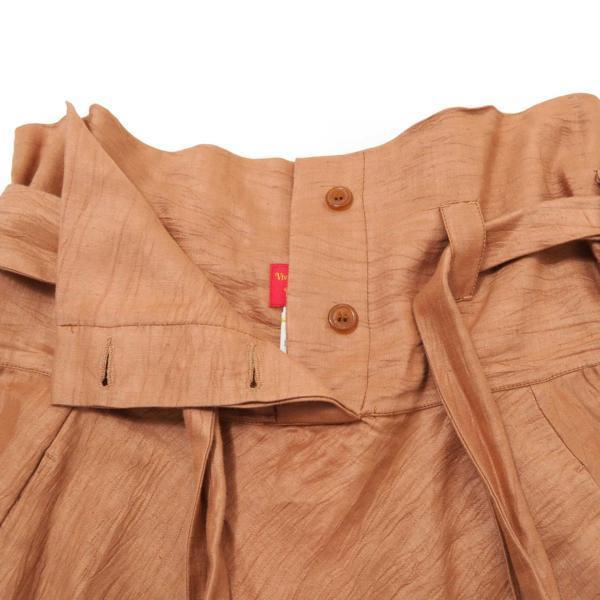 Vivienne Westwood サルエル パンツ 定価72,450円 ヴィヴィアン ブラウン系_画像4