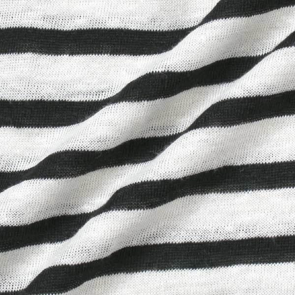T by ALEXANDER WANG リネン シルク ニット カットソー sizeXS ブラック ホワイト ティー バイ アレキサンダーワン Tシャツ_画像5
