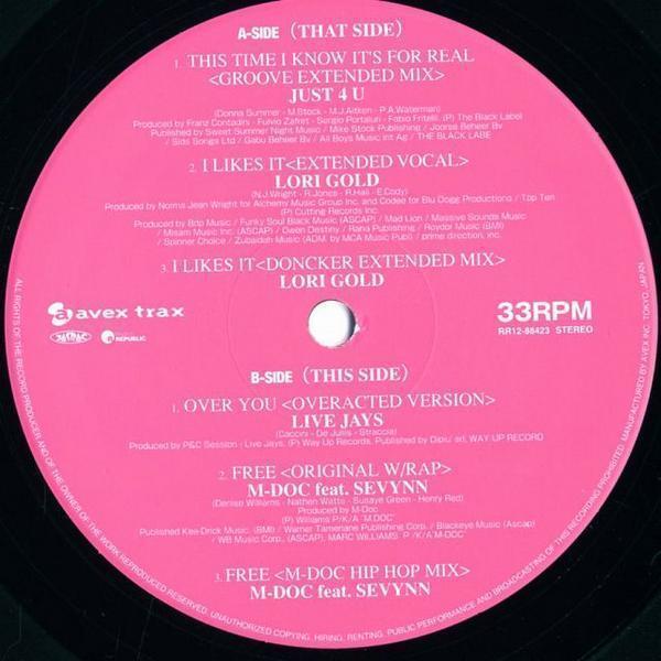 12inch/V.A./M.DOC、LORI GOLD他/Lovers 3 EP/RR1288423_画像2