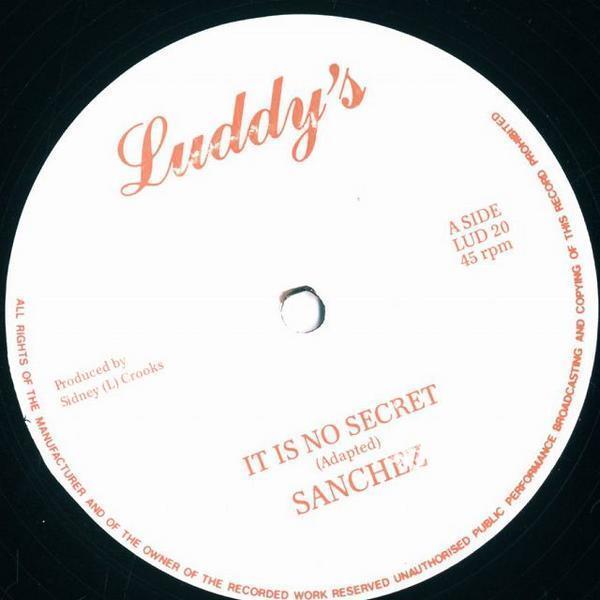 12inch/Sanchez/It Is No Secret/LUD20_2050-060
