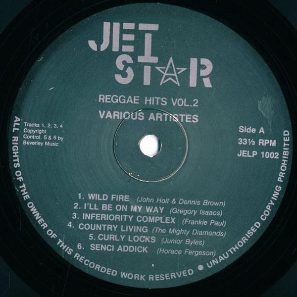V.A. / Dennis Brown And John Hol 他 / Reggae Hits vol. 2_画像3