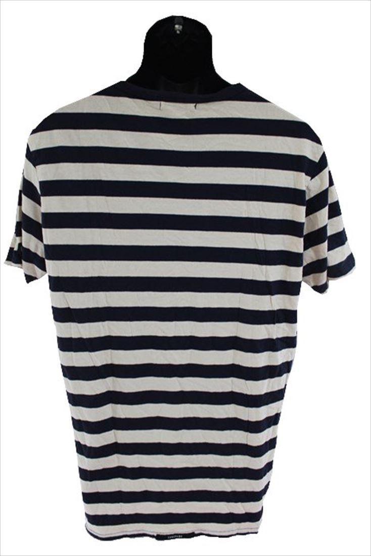 ゼインローブ ZANEROBE メンズ半袖Tシャツ ボーダー柄 Lサイズ 新品_画像3