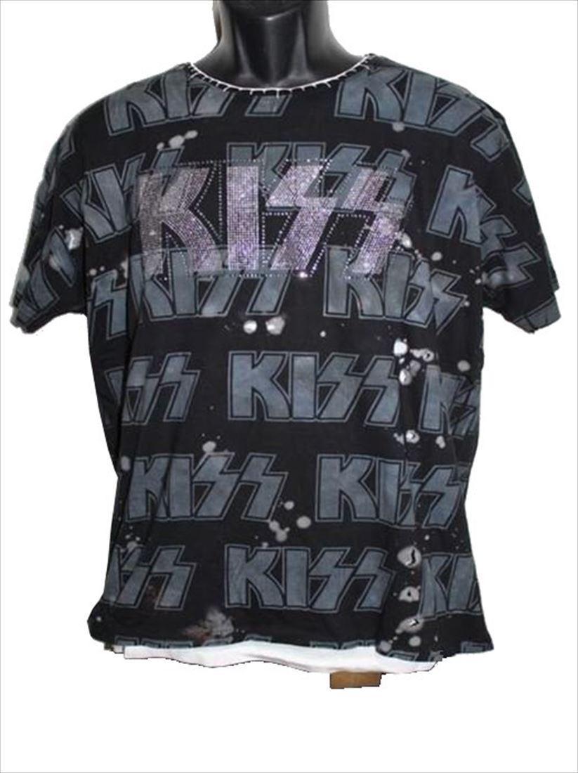 サディスティックアクション SADISTIC ACTION アイコニック メンズ半袖Tシャツ Mサイズ KISS 新品_画像1