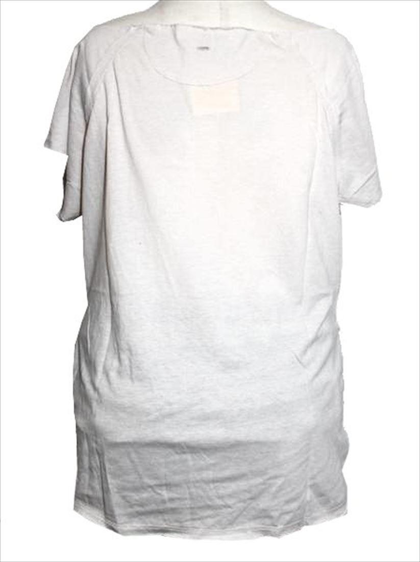 スワンジー SWANZY レディース半袖Tシャツ カットソー アイボリー 新品_画像3